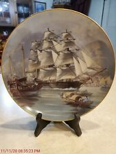 The Great Clipper Ships Collectors Plate Franklin Mint 1981 – Sea Witch