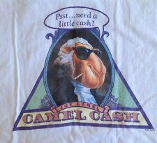 1991 Vintage Joe Camel T-Shirt Camel Cash Pyramid George Washington Large 42-44