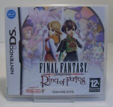 Final Fantasy Crystal Chronicles: Ring of Fates Nintendo DS Neu & OVP sealed