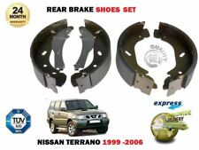 FOR NISSAN TERRANO 2.4 2.7TD 2.8 3.0TD 1999-2006 NEW REAR AXLE BRAKE SHOES SET