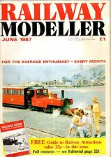 Railway Modeller Magazine - Jun 1987 Features GNR Signal cabin drawing