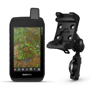 Garmin Montana 700 GPS w/ Motorcycle & ATV Mount Kit Bundle 010-02133-00