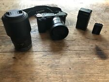 Sony alpha a6000 mirrorless digital camera + 2 Lenses + Battery and Charger