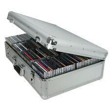 Citronic CDA120 / CDA 120 Aluminium CD Flight Case  Holds 120 CDs 127.066
