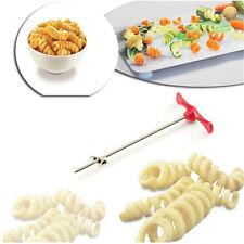 Tornado Roller Spiral Slicer Cutter Twist Shredder Vegetable Fruit Carving Tools