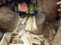 Kegelspalter Drillkegel Feuerholz spalter für Batterie Elektrische Bohrmaschine