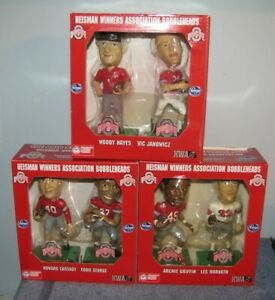 Ohio State Buckeyes Bobbleheads Archie Griffin / Woody Hayes / Eddie George (6)