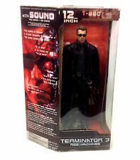 "Mcfarlane toys 2003 terminator 3 rise of machines 12"" electronic figure boxed"