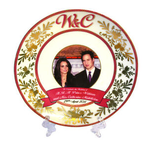 William and Catherine China Wedding Plate Collectable RW201