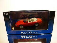 AUTOART 53711 JAGUAR XK8 CABRIOLET - RED 1:43 - EXCELLENT IN BOX