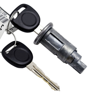 GM Saturn Ion Ignition Lock Key Switch Cylinder Tumbler Barrel Strattec 2 Keys