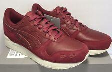 Asics Mens SZ 8 Tiger GEL-LYTE Leather Athletic Running Training Burgundy Shoes