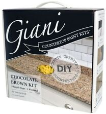 Giani Countertop Transformation Chocolate Brown High-Gloss Paint Resurfacing Kit
