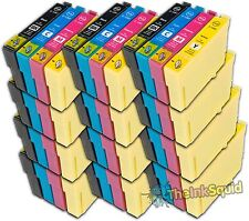 12 Sets Compatible T1285 Ink (48 Cartridges) Epson Stylus S22 (Non-oem)