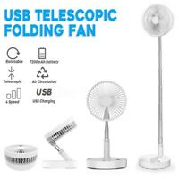 USB Mini Rechargeable Portable Folding Fan Cooler P90S with remote controller