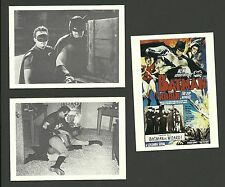Batman & Robin - Scarce Movie Serial Cards B
