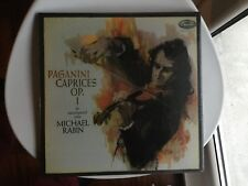 MICHAEL RABIN Violin Paganini Caprices op.1 CAPITOL 2x 180g LP SPBR 8477