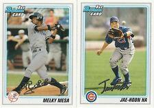 2010 Bowman Prospects Baseball 233 Card Lot