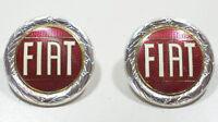 2 x Fiat-Emblem Fiat 124, new emblems Fiat 124 , Fiat X1/9