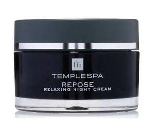 Temple Spa Repose Aromatherapy Night Moisturiser Face Cream New In Box Rrp £40