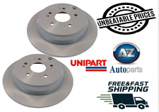 Vented fits HONDA CR-V RD4 2.0 Front 01 to 07 K20A4 300mm 2x Brake Discs Pair