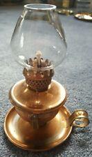 Vintage nursery / den / caravan oil lamp.