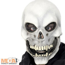 Skull Mask Halloween Skeleton Fancy Dress Costume Outfit Mens Adult Accessory