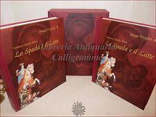 ARTE - MINEO, T. Claudio: IMAGO VIRGINIS La Spada e il Latte 2 volumi a Colori