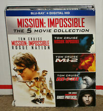 Mission Impossible 5 Movie Collection Blu-ray