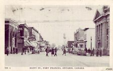 SCOTT ST FORT FRANCES ONTARIO CANADA 1952