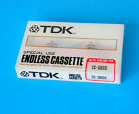TDK Special Use Endless Cassette Tape EC-30SG w/Sensing Foil Japan NEW & SEALED