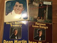 Dean Martin LP Lot: Nashville Sessions/ My Woman My Wife/ Famous Love Songs NICE