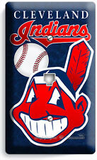 CLEVELAND INDIANS BASEBALL PHONE JACK TELEPHONE WALL PLATE COVER MAN CAVE GARAGE