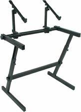 Quik Lok Z-726 Double Tier Adjustable Z frame Keyboard Stand 3yr Warranty