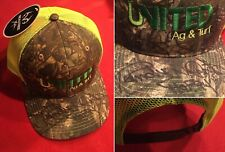 Authentic Dallas Cowboy RANDY WHITE signed United Ag&Turf camo/mesh trucker hat