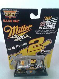 NASCAR High Performance Sports #2 Rusty Wallace Miller 25th anniversary 1:64 car