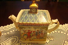 "James Sadler Teapot, ""A Round of Golf""  Made in England"