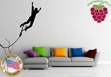 Wall Stickers Vinyl Decal Extreme Sport Rope Swing Funny ig956