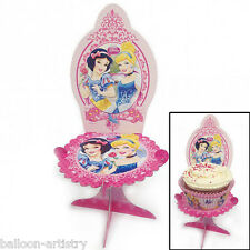 4 Disney Princess Sparkle Style Party Birthday Mini Cupcake Cake Stands