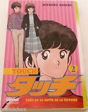 Manga TOUCH tome 2 Théo ou la batte de la victoire Glénat éditions en Français