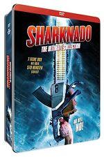 Metallbox Sharknado 1 2 3 4+ Tiburón Horror Ultimate Collection Caja de DVD
