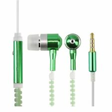 New Wired Earphone Luminous Light Up Zipper Headphone Earbuds In-ear VE