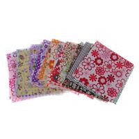 50pcs 10x10cm Fabric Bundle Cotton Patchwork Sewing Quilting Cloth DIY Craft
