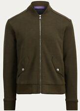 NWT Ralph Lauren Purple Label Wool Blend Bomber Jacket M Medium Italy
