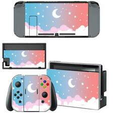 Cute Lunar Moon Sky Nintendo Switch Joy-Con Dock Vinyl Skin Decals Sticker Cover