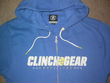 CLINCH GEAR WRESTLING ZIP UP HOODED SWEATSHIRT LARGE UFC MMA BJJ GYM WWE KSW NEW