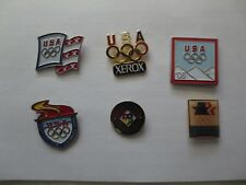 Vintage 6 Olympic Team Pins