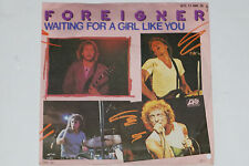"FOREIGNER -Waiting For A Girl Like You / Feels Like The First Time- 7"" 45 1982"
