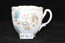 Antikes Porzellan Kaffeetasse C.T: Carl Tielsch Altwasser (G110-7)