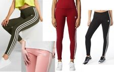 adidas 3-Stripes Leggings - Green - Red -Black -Pink